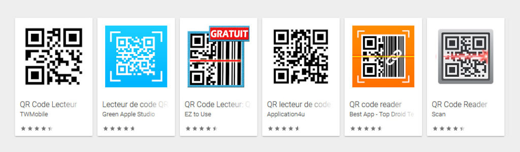 lecteur de qr code